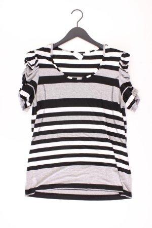 Monari Shirt grau gestreift Größe 44