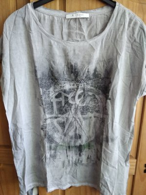 Monari T-shirt grigio chiaro-grigio