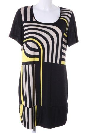 Monari Shirtkleid abstraktes Muster Business-Look