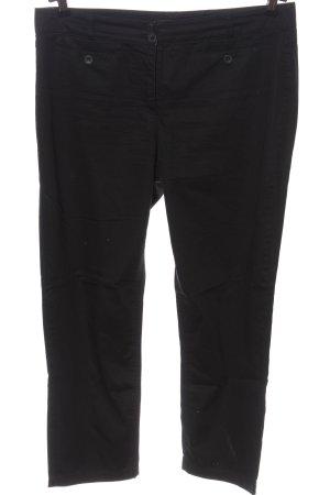 Monari Pantalone jersey nero stile casual