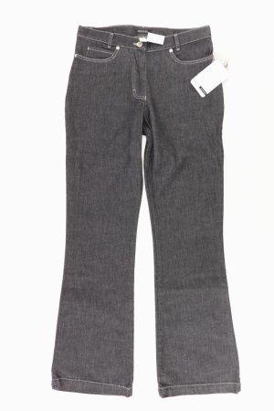 Monari Jeans a gamba dritta multicolore
