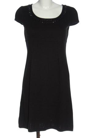Monari Strickkleid schwarz Elegant