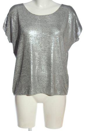 Monari Camicia maglia grigio chiaro stile casual