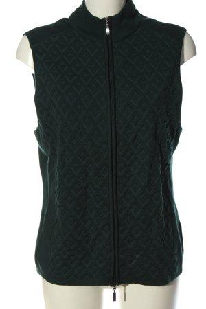 Monari Strickweste grün Casual-Look