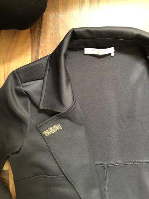 Monari Trenchcoat noir-argenté polyester