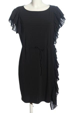 Monari Flounce Dress black business style
