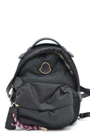 Moncler School Backpack black polyester