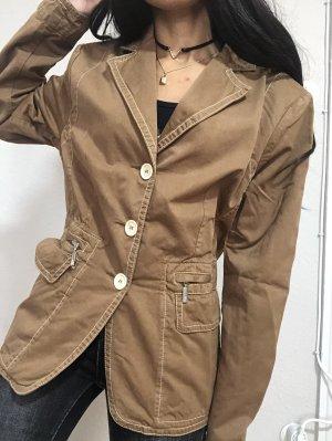 MONCLER Blazer Damen  Monclerjacket  Damenjacke Braum Gr.3 / L