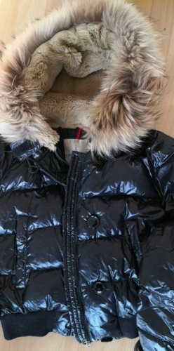 Moncler Bomber Jacket black-beige
