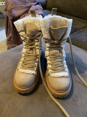 Moncler Snow Boots multicolored leather