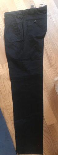 Moncler Pantalon à pinces bleu foncé