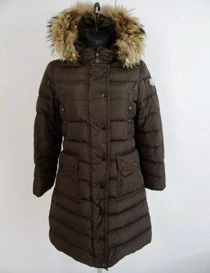 Moncler Abrigo de plumón marrón