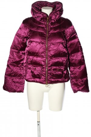 Moncler Daunenjacke pink Steppmuster Casual-Look