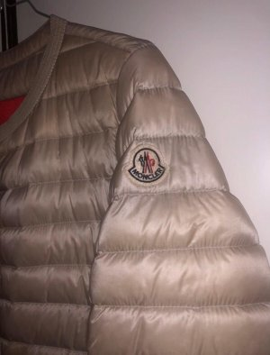 Moncler Down Jacket cream
