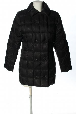 Moncler Down Jacket black quilting pattern casual look