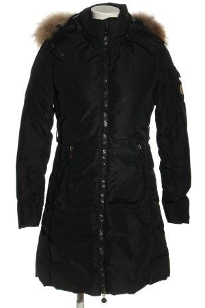 Moncler Piumino lungo nero stile casual