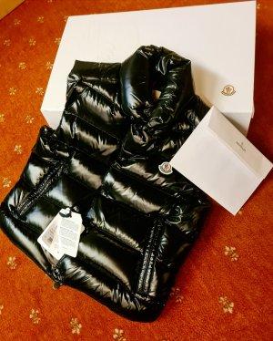 Moncler Daunenweste schwarz original! neu, ungetragen m. Etikett u. Originalverpackung, Herrengr M/48, Damengr L/38,40