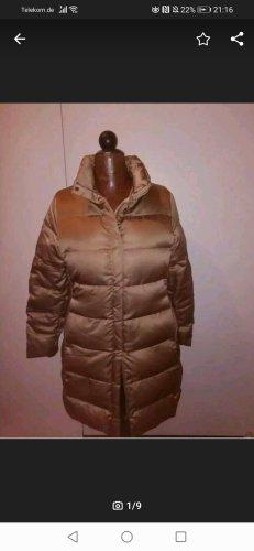 Moncler Manteau en duvet doré