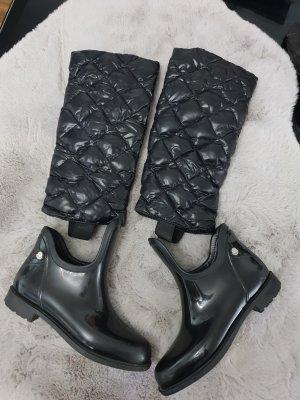 Moncler Wellington laarzen zwart