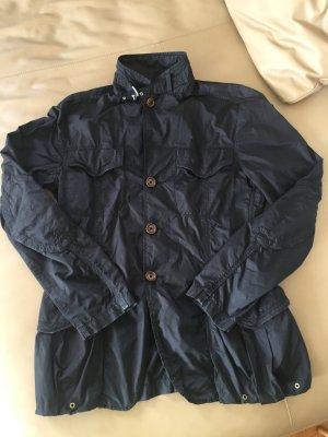 Moncler Jacke dunkelblau Gr. 38 leichte Sommer Jacke