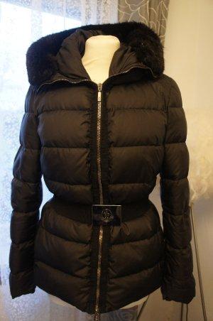 Moncler Jacke schwarz 36 Damen Kapuze