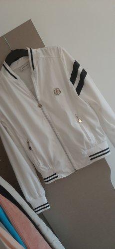Moncler Fleece Jackets white-black