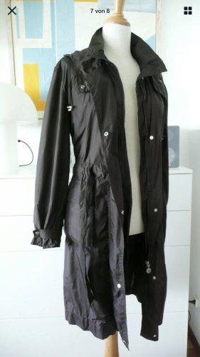 Moncler Manteau de pluie brun foncé