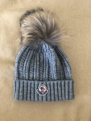 Moncler Sombrero de piel gris