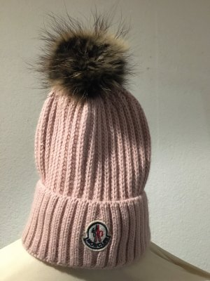 Moncler Knitted Hat pink