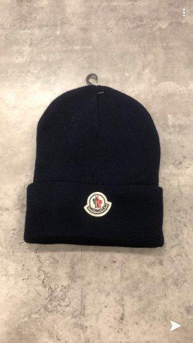 Moncler Cappello in tessuto nero