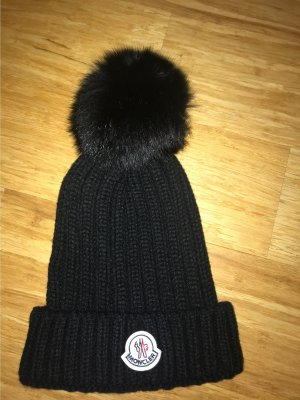 Moncler Chapeau pointu noir