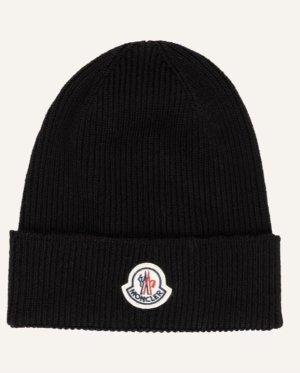 Moncler Mütze schwarz