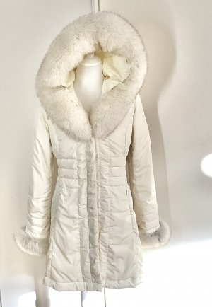 Moncler New Down Coat with Fur