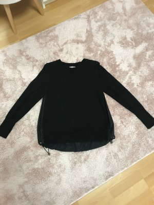 Moncler Długi sweter czarny