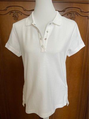 Moncler Camiseta tipo polo blanco puro-crema