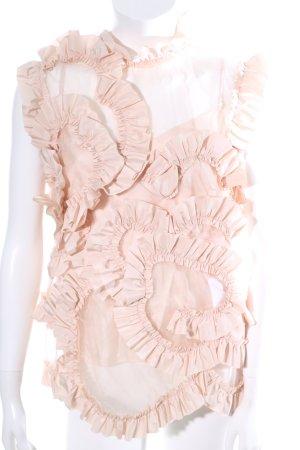 Moncler Rüschen-Bluse nude Elegant