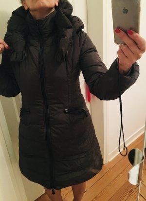 Moncler Piumino lungo marrone scuro