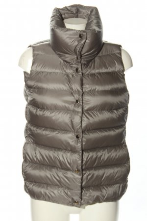 Moncler Steppweste braun Steppmuster Casual-Look