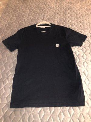 Moncler Stripe Shirt dark blue