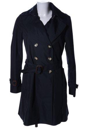 Moncler Trenchcoat schwarz Casual-Look