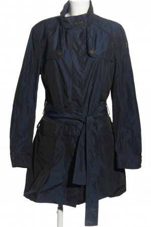 Moncler Trenchcoat blau Business-Look