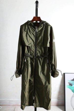 Moncler Trenchcoat Grün Jacke Coat Damen
