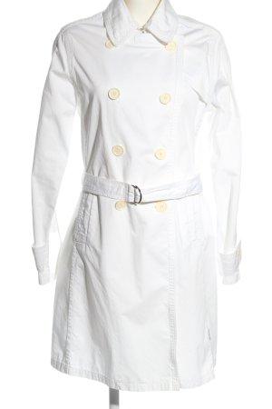 Moncler Płaszcz przejściowy biały W stylu biznesowym