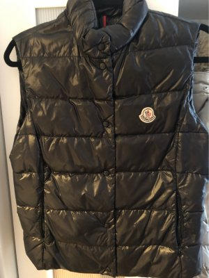 Moncler Capuchon vest zwart
