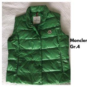 Moncler Down Vest green polyamide