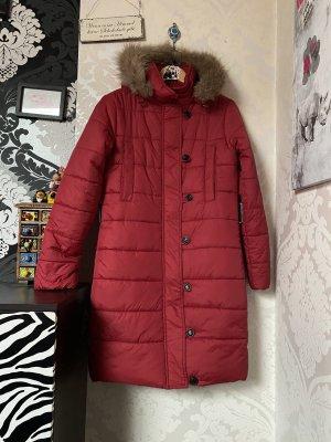 Moncler Wintermantel Winterjacke rot gr 2 D:36/38