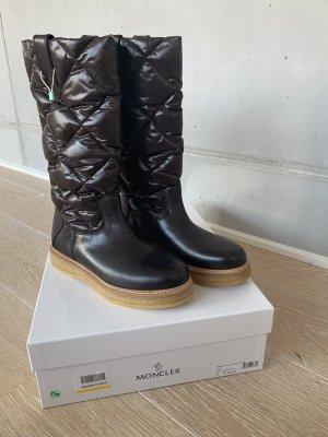 Moncler Winterstiefel Boots braun 38 Neu