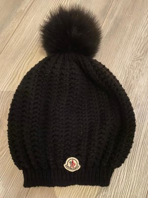 Moncler Knitted Hat black