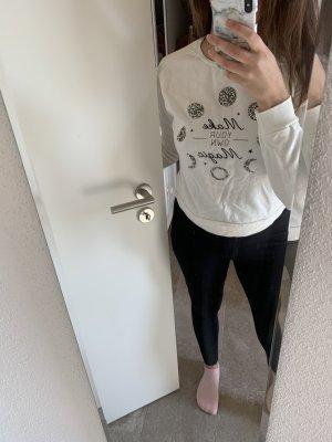 Bershka Wełniany sweter Wielokolorowy