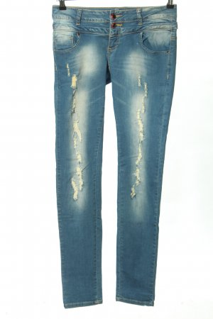 Monday Premium Stretch jeans blauw casual uitstraling